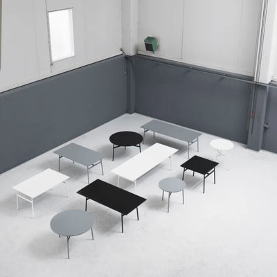 Normann Copenhagen Union table h74.5, round, black