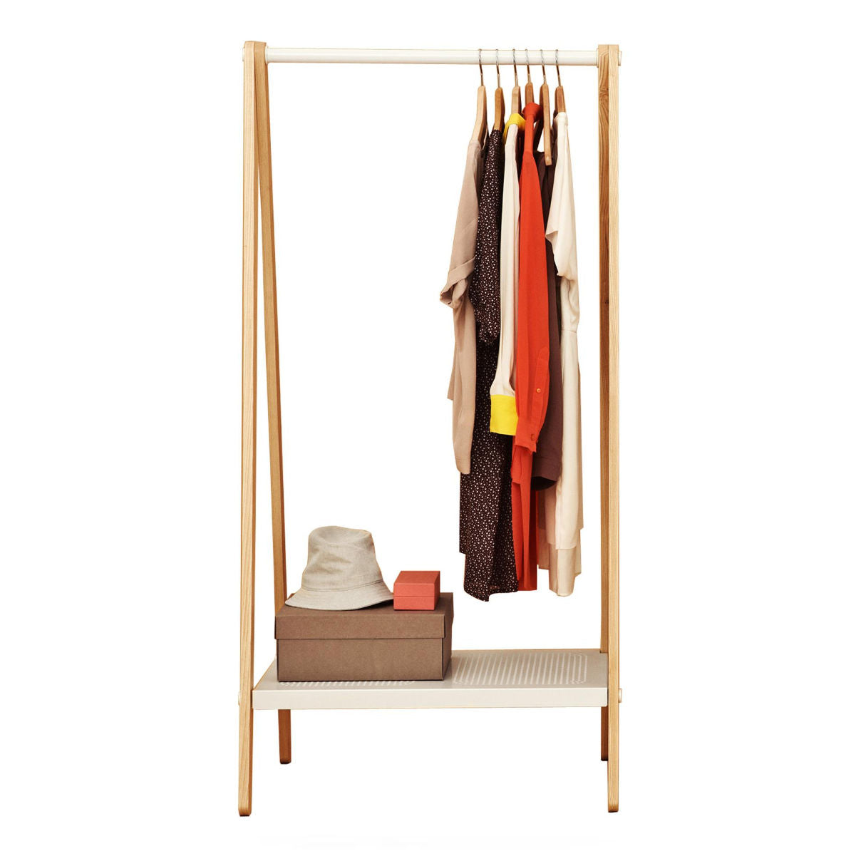 Normann Copenhagen Toj clothes rack, small, white