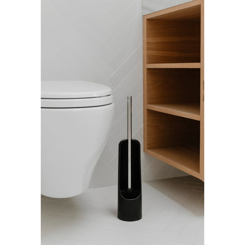 Umbra Touch toilet brush, black