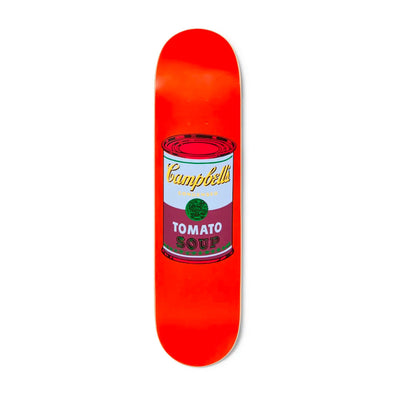 The Skateroom skateboard, Andy Warhol Colored Campbell's Soup purple