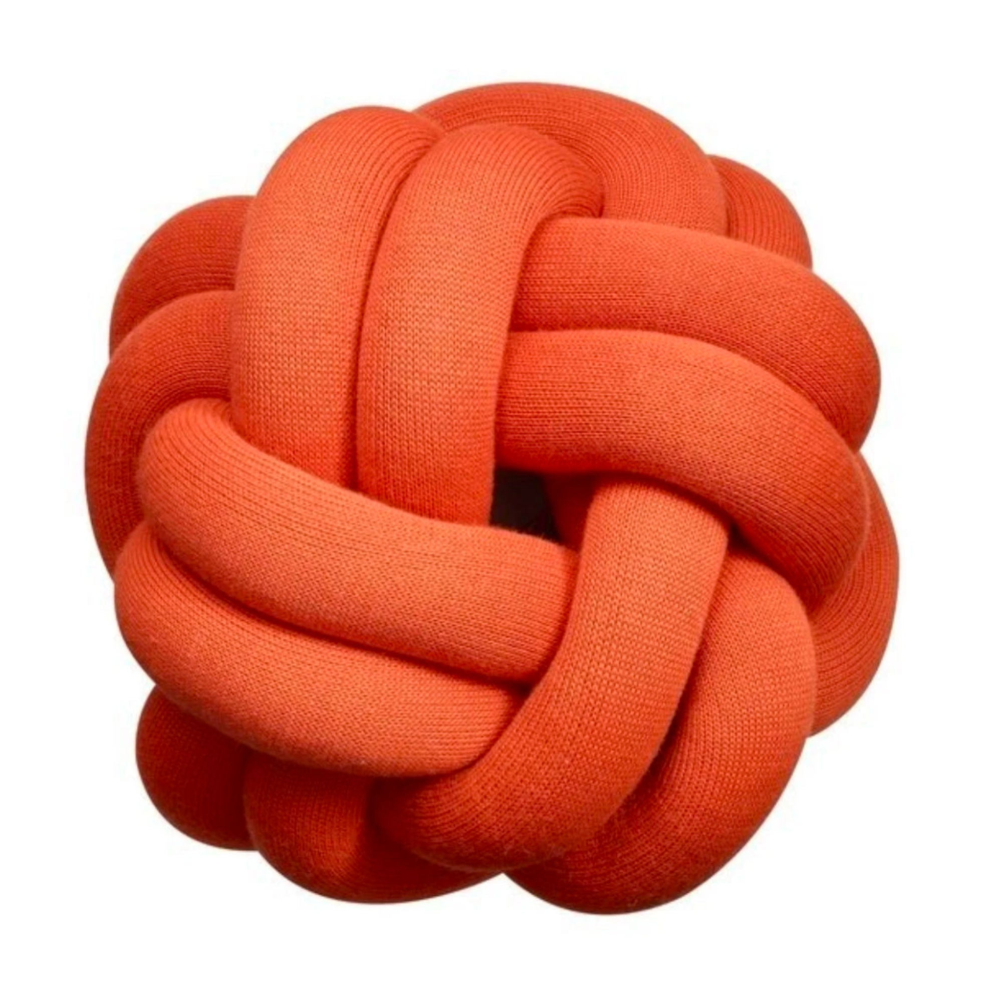 Design House Stockholm Knot Cushion , Tomato
