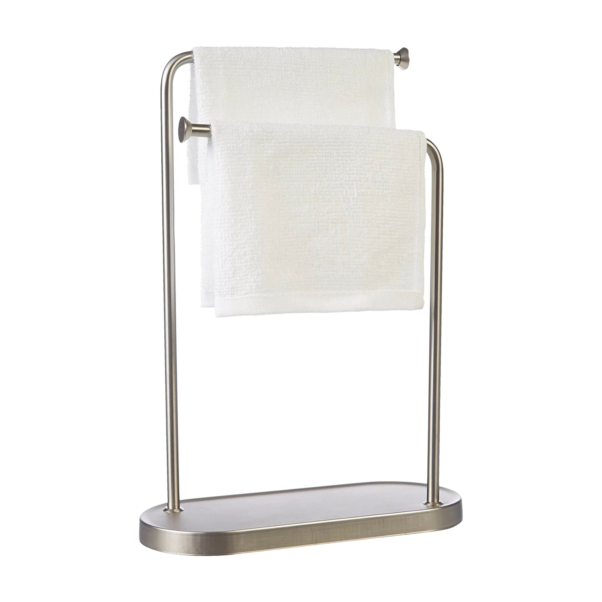 Umbra Double Hand Towel Holder , Nickel