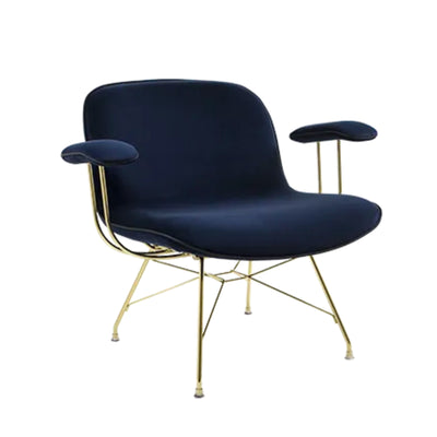 Magis Troy Lowchair with Arms , Glamour Azimut-Gold