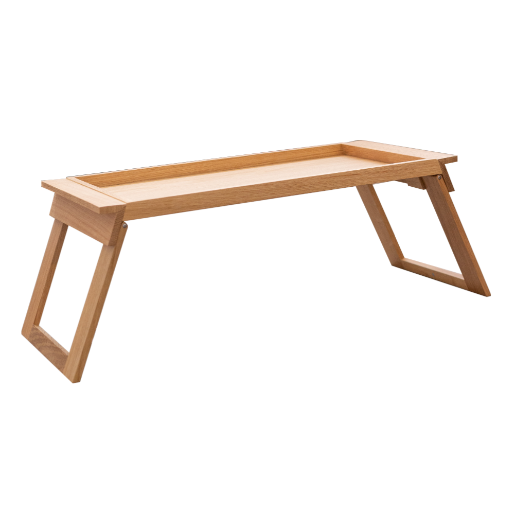 Homeless Foldable Tray Table, oak