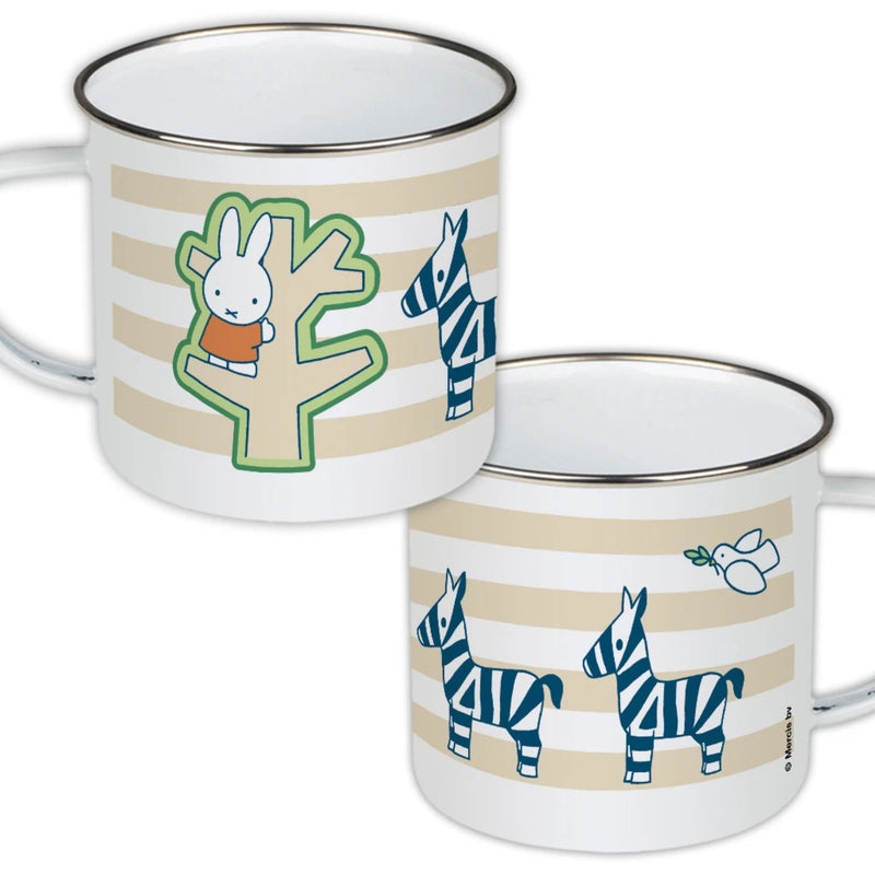 Miffy Enamel Mug, tree