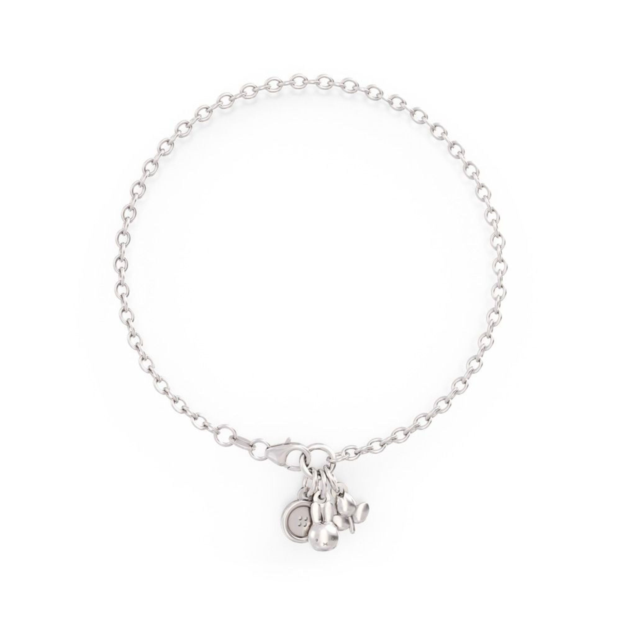 Miffy Sterling Silver Bracelet Set , Triple