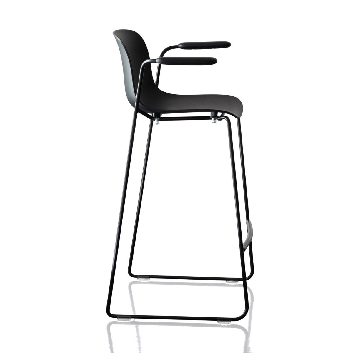 Magis Troy bar stool 77cm, black