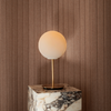 Menu TR Bulb Brushed Brass Table Lamp