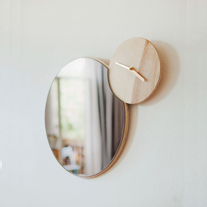 Woud Timewatch Mirror , Oak