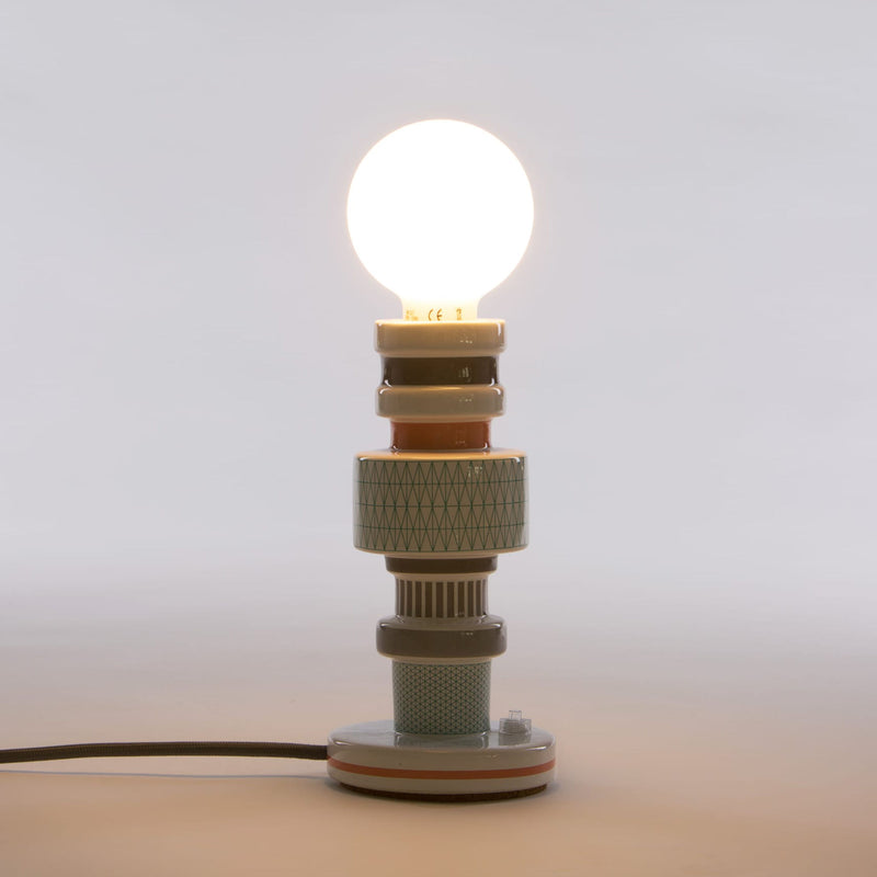 Seletti Moresque Table Lamp Design #1 , Turnot
