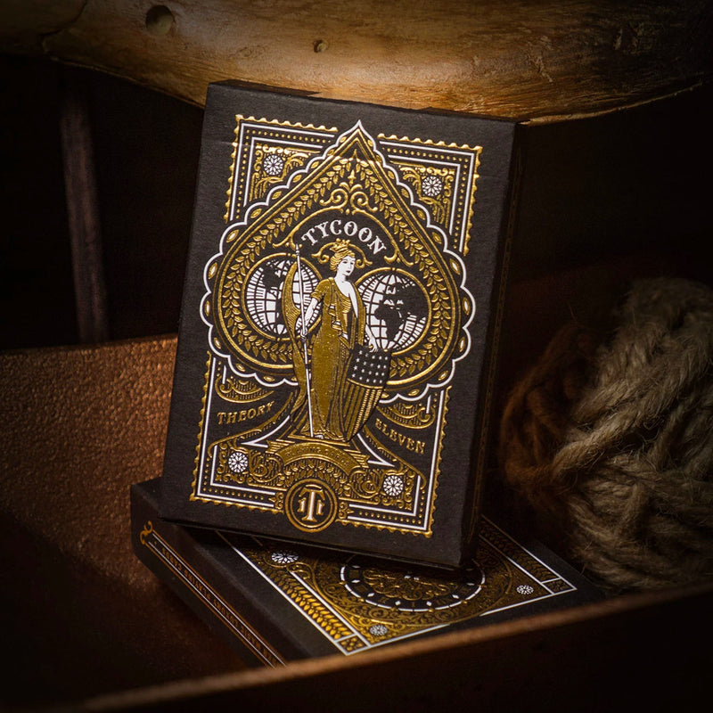 Theory11 Tycoon Black Playing Cards