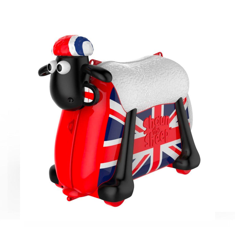 Shaun the Sheep Kids Ride-on Suitcase , British