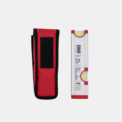 BMI Ultrasonic 20cm Aluminium profile spirit level