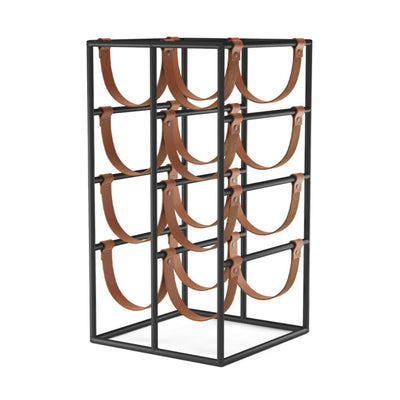 Menu Umanoff Wine Rack , Black/Cognac