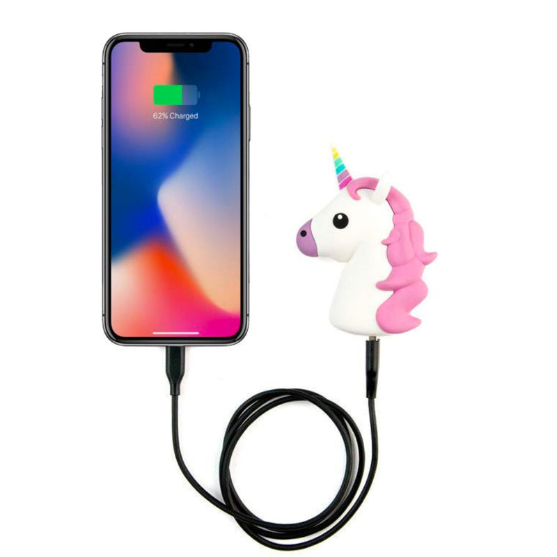 Moji Emoji power bank 2600mAh, unicorn