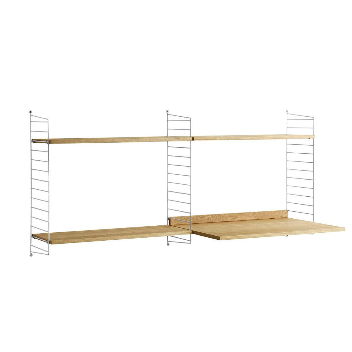 String® Shelving System Colleague Desk