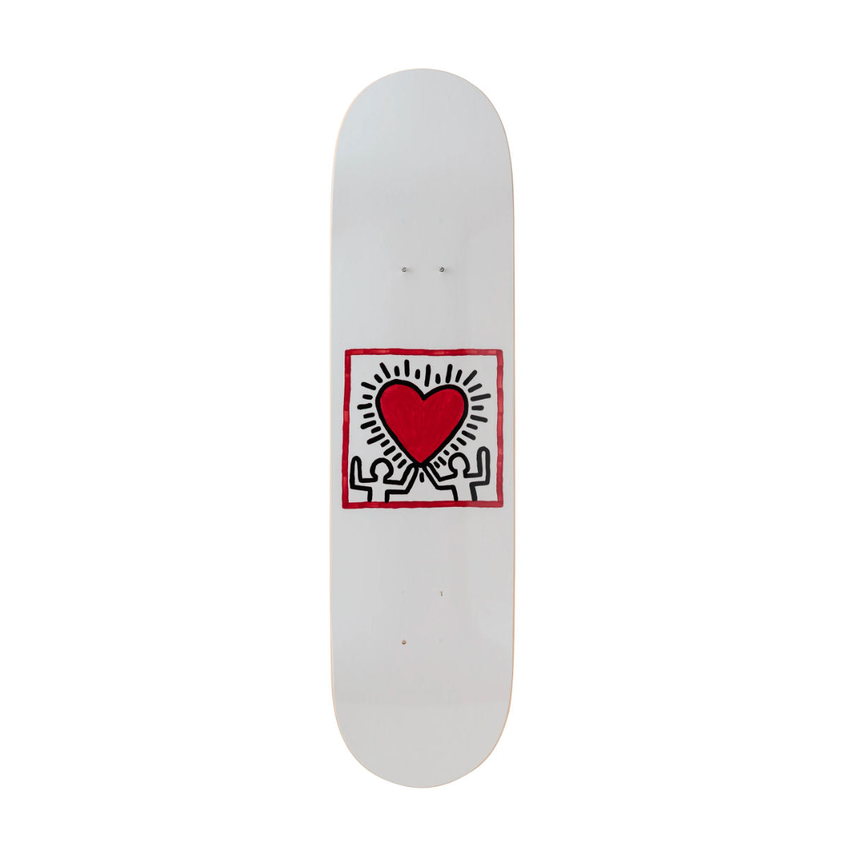 The Skateroom skateboard, Keith Haring Untitled (Heart)