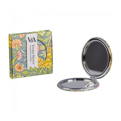 V&A William Morris Compact Mirror , Double Bough