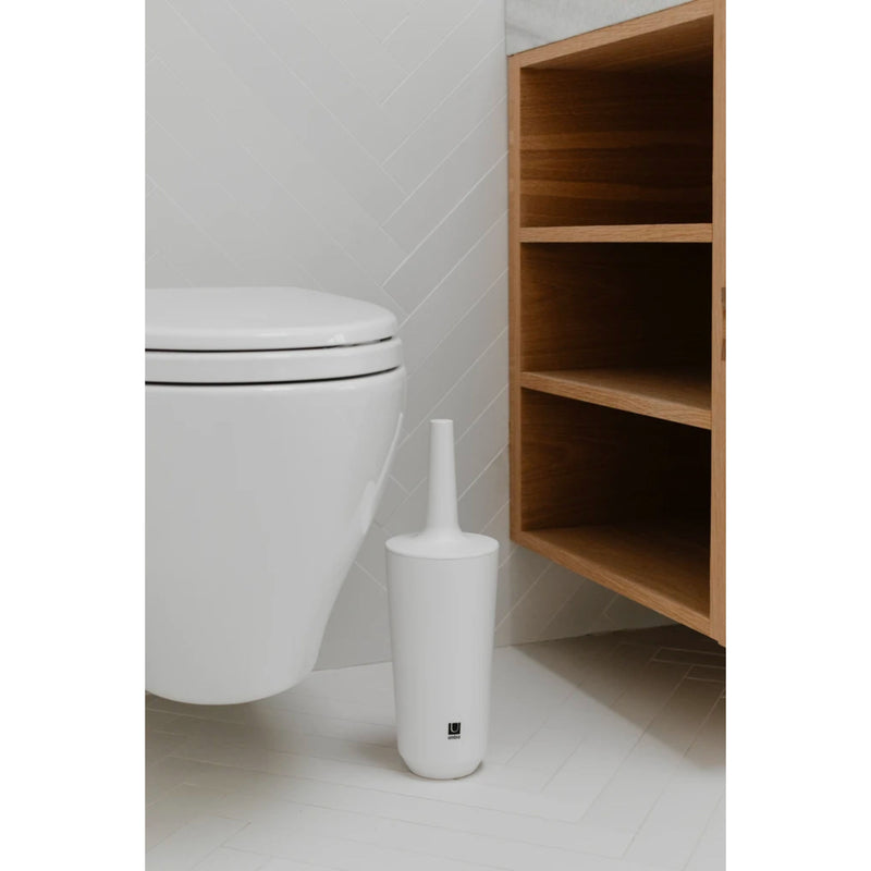 Umbra Fiboo toilet brush, white