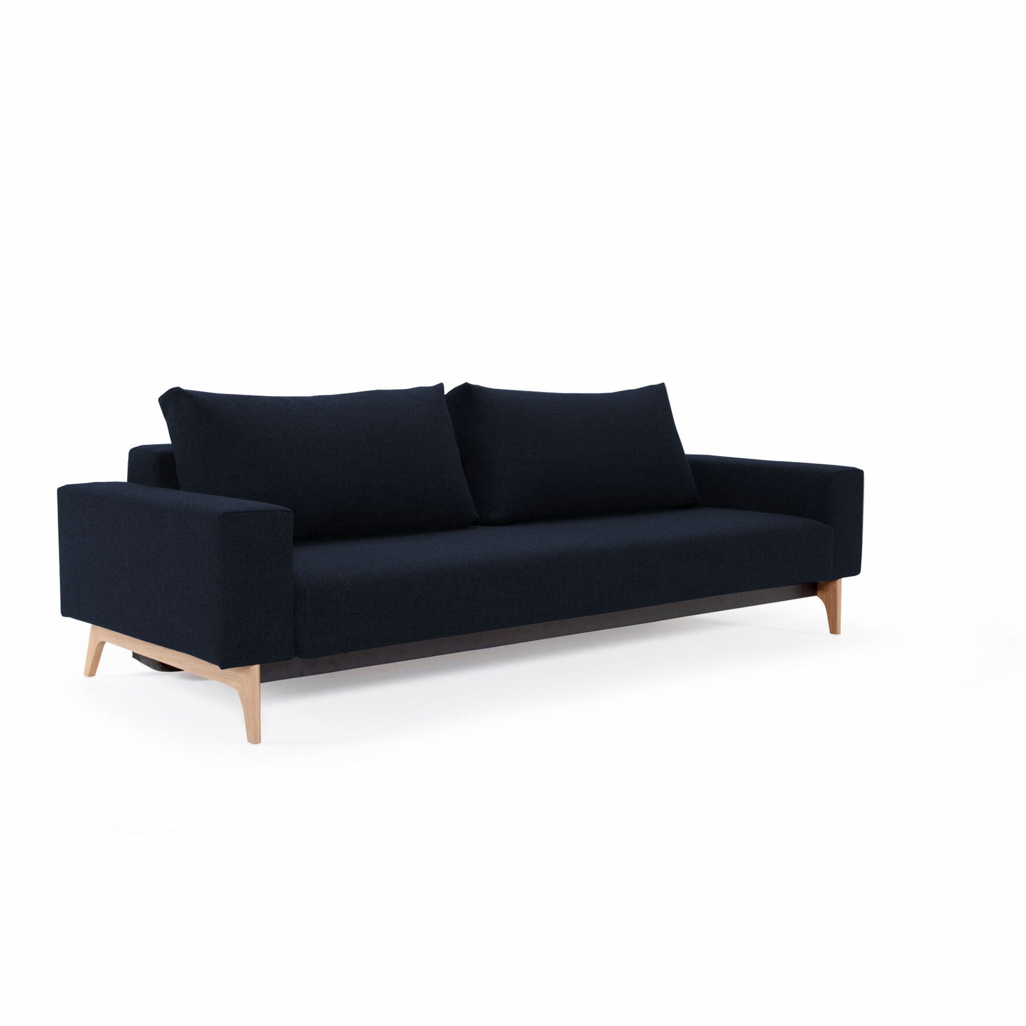 Innovation Living Idun Sofabed with Arms, 541 velvet dark blue