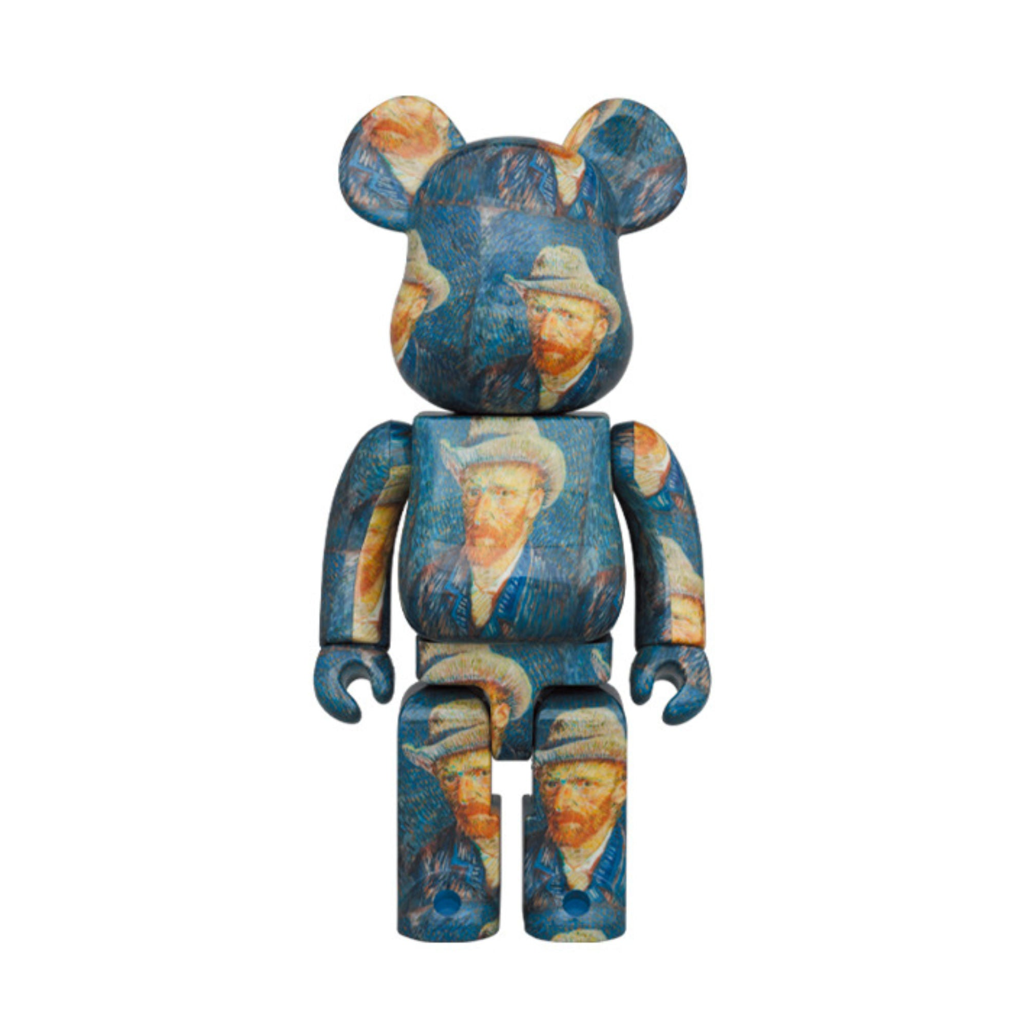BE@RBRICK Van Gogh Museum Self-Portrait with Grey Felt Hat 1000%