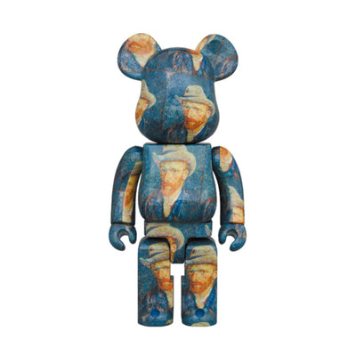 BE@RBRICK Van Gogh Museum Self-Portrait with Grey Felt Hat 1000% (To be shipped in late Dec 2020)