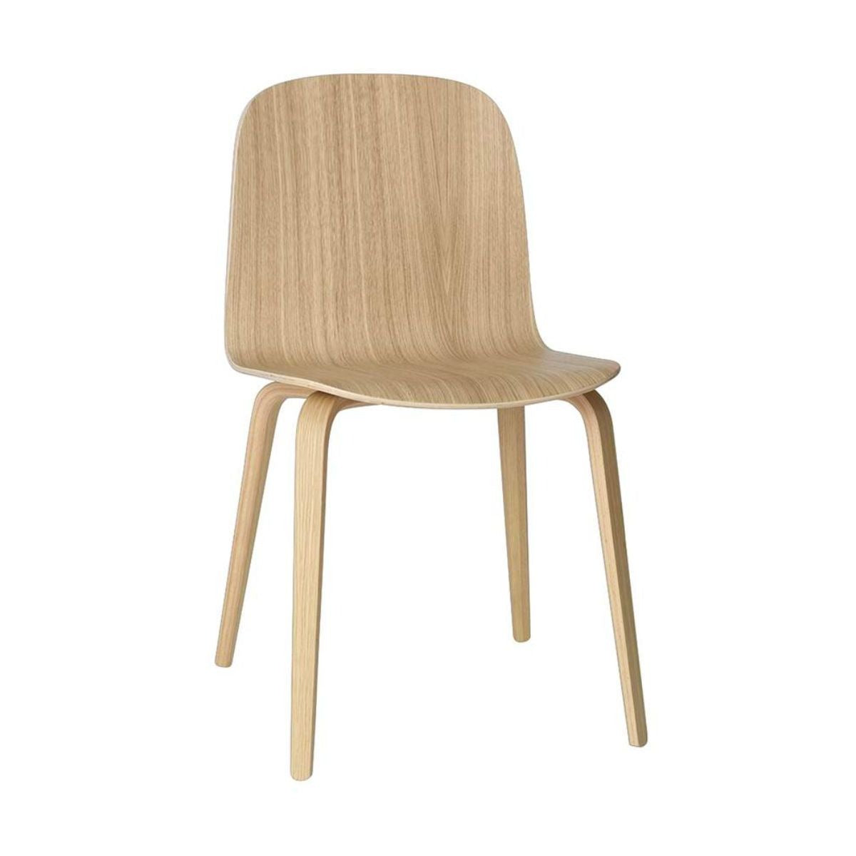 Muuto Visu Chair wood base, oak
