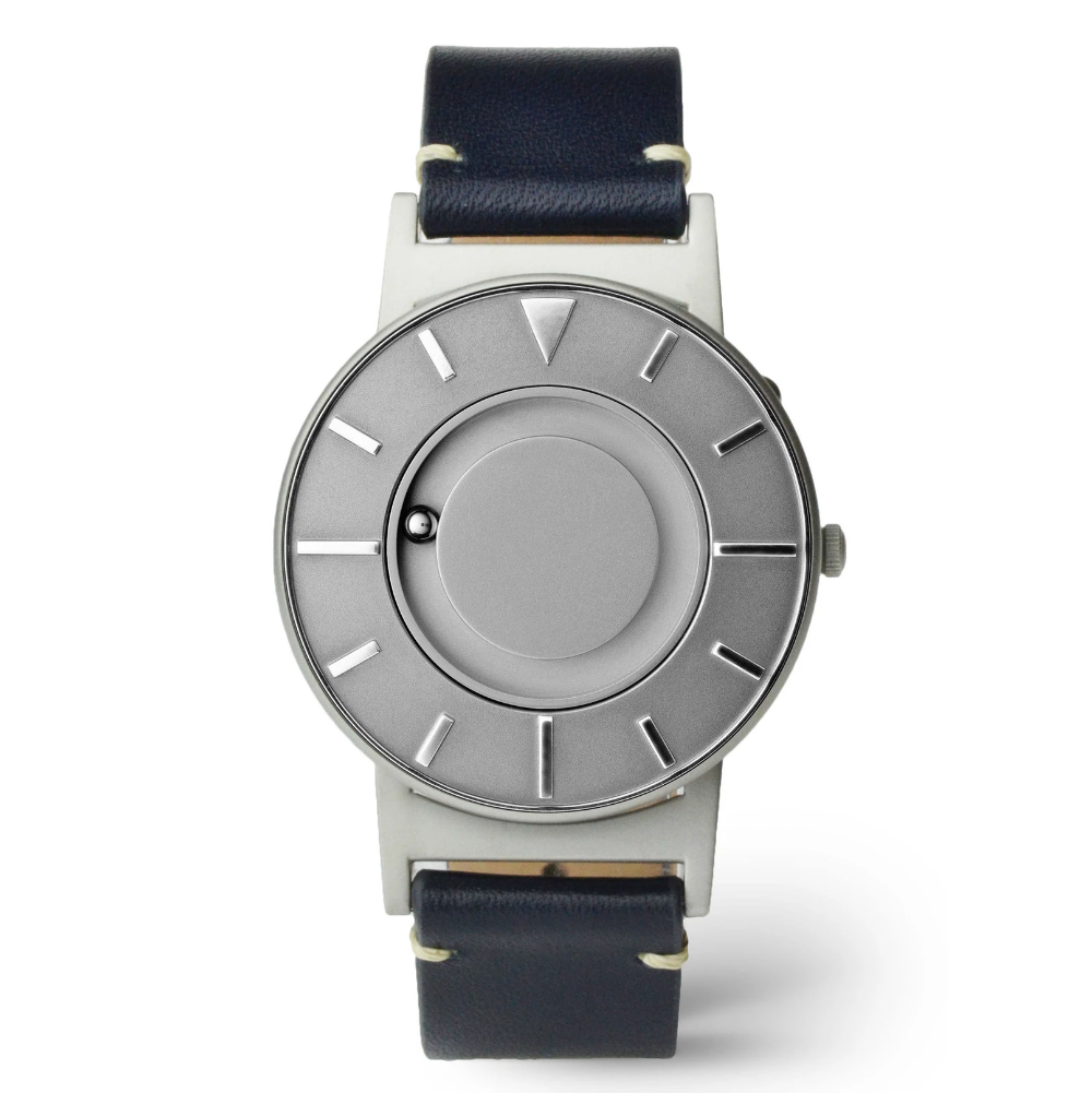 Eone Bradley Voyager Watch Ocean Leather Strap