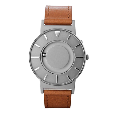 Eone Bradley Voyager Watch With Brown Leather Strap