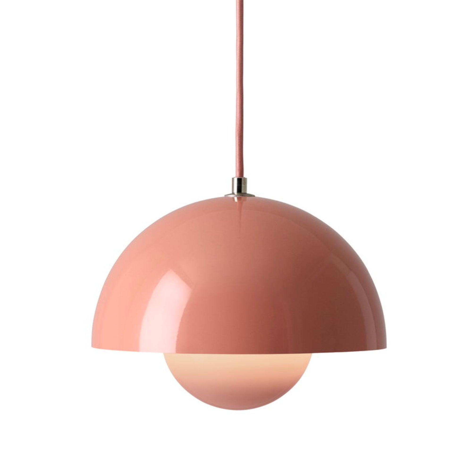 &Tradition Flowerpot pendant lamp, beige red