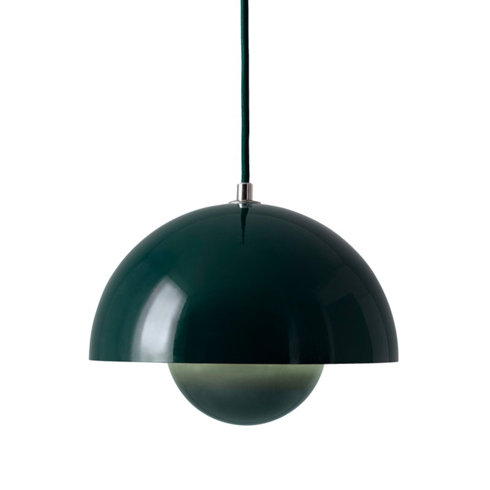 &Tradition Flowerpot pendant lamp, dark green