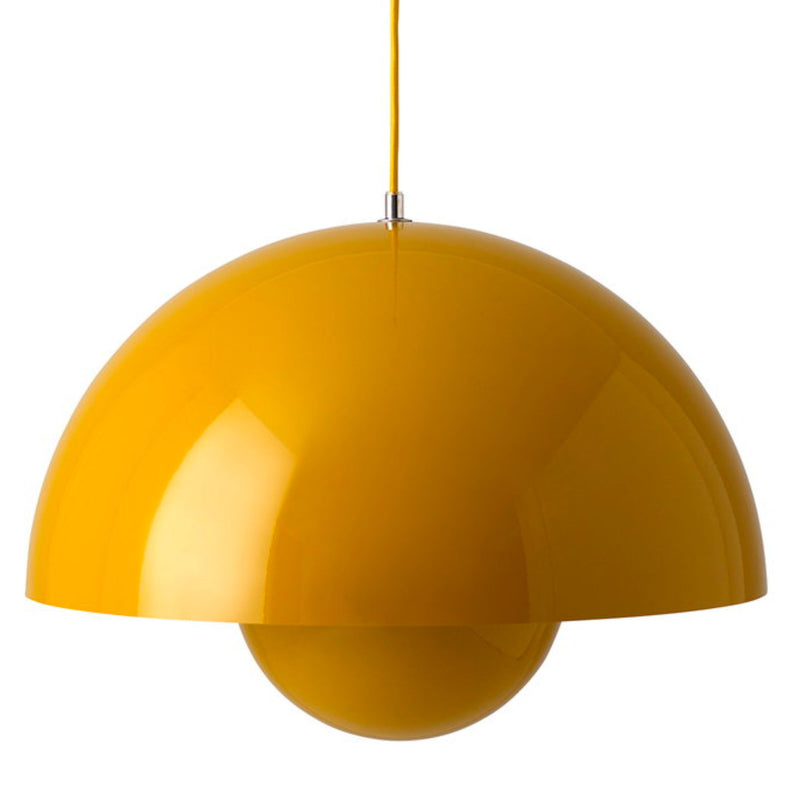 &Tradition Flowerpot pendant lamp, mustard