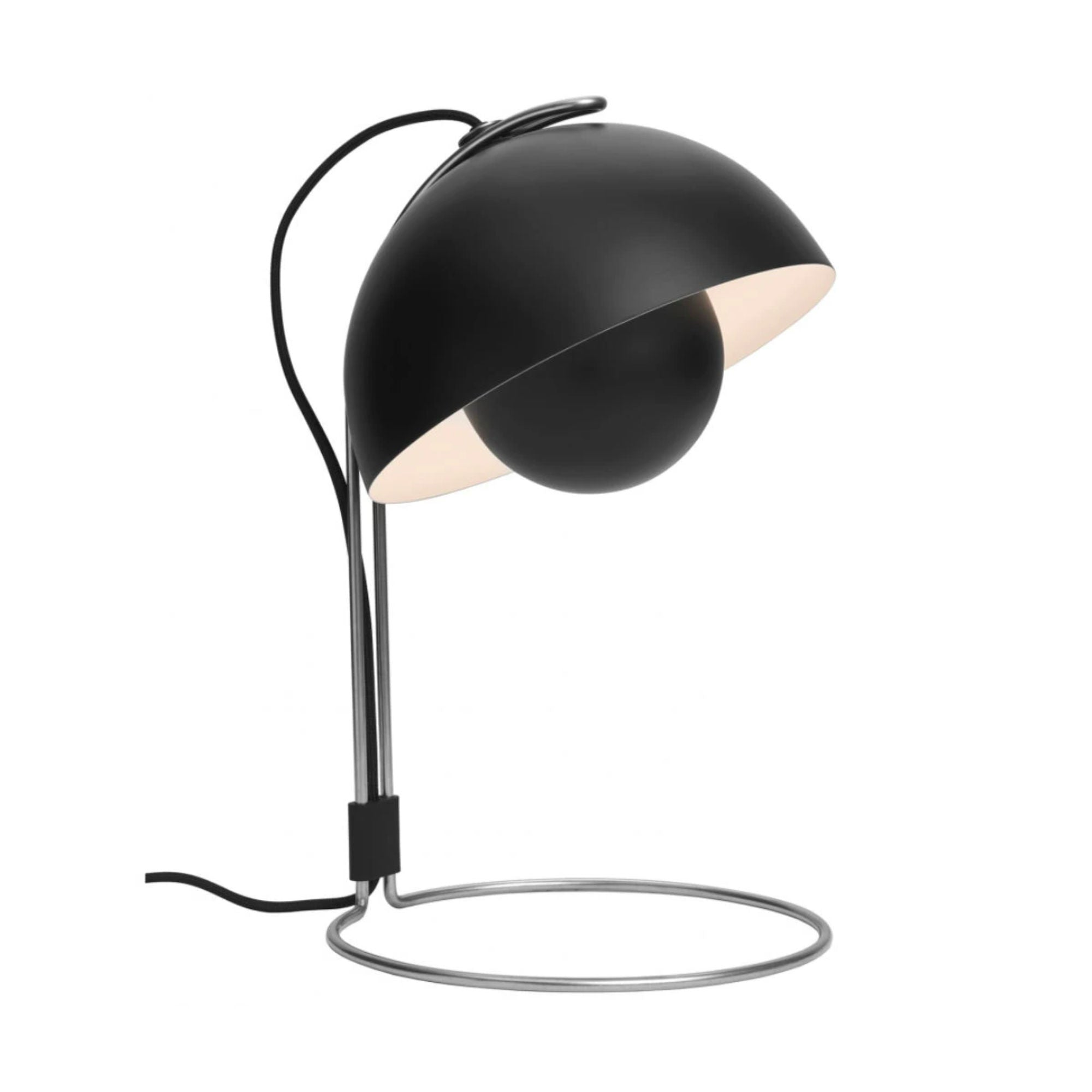 VP4 Flowerpot table lamp, matt black