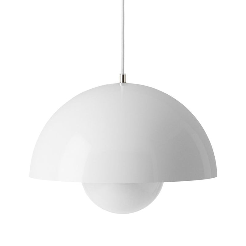 &Tradition Flowerpot pendant lamp, white