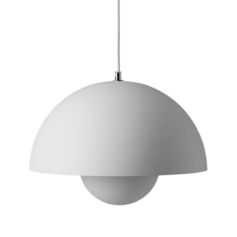 &Tradition Flowerpot pendant lamp, matt light grey