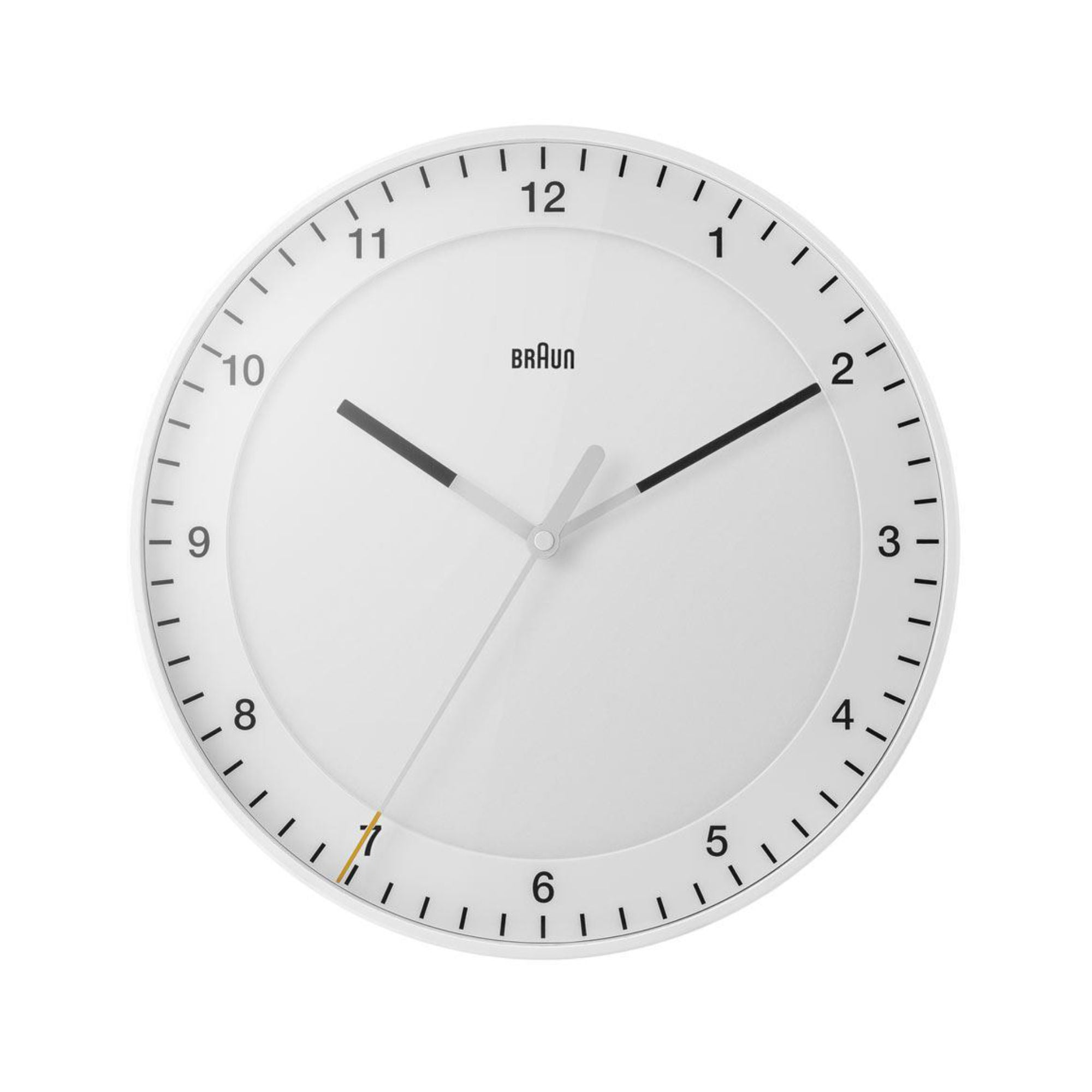 Braun BC17 Wall Clock , White
