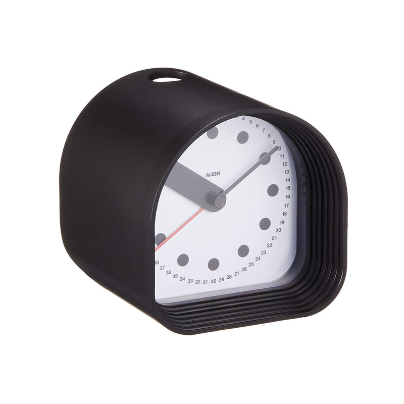 Aleesi 02 B Optic Alarm Clock , Black