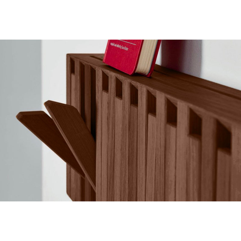 Peruse Xylo Hanger Panel, Walnut Natural Oiled