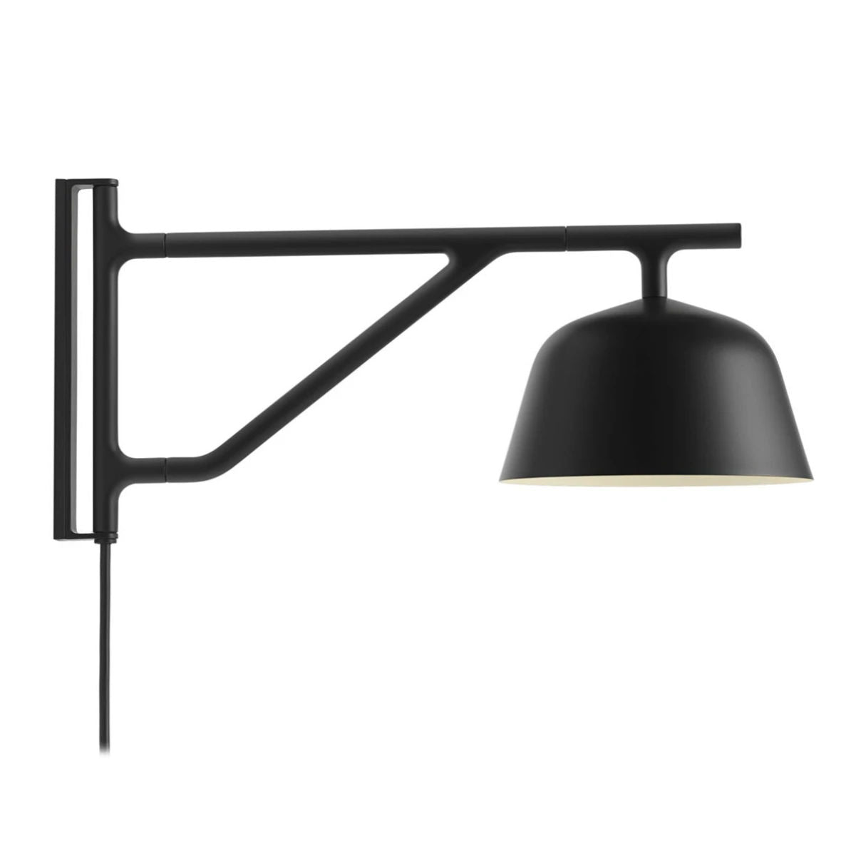 Muuto Ambit wall lamp, black