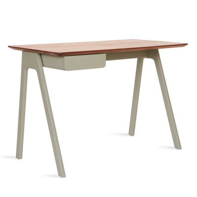 Blu Dot Stash Desk , Walnut/Grey