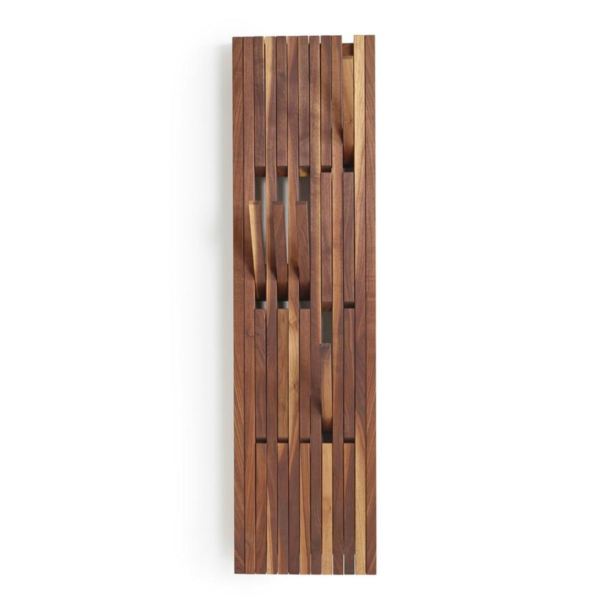 Peruse Piano hanger panel, Small - Walnut natural oiled