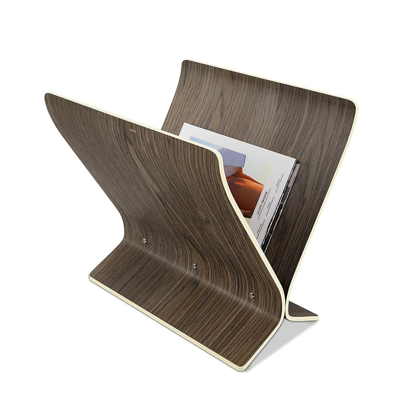 Umbra Arling magazine rack, walnut