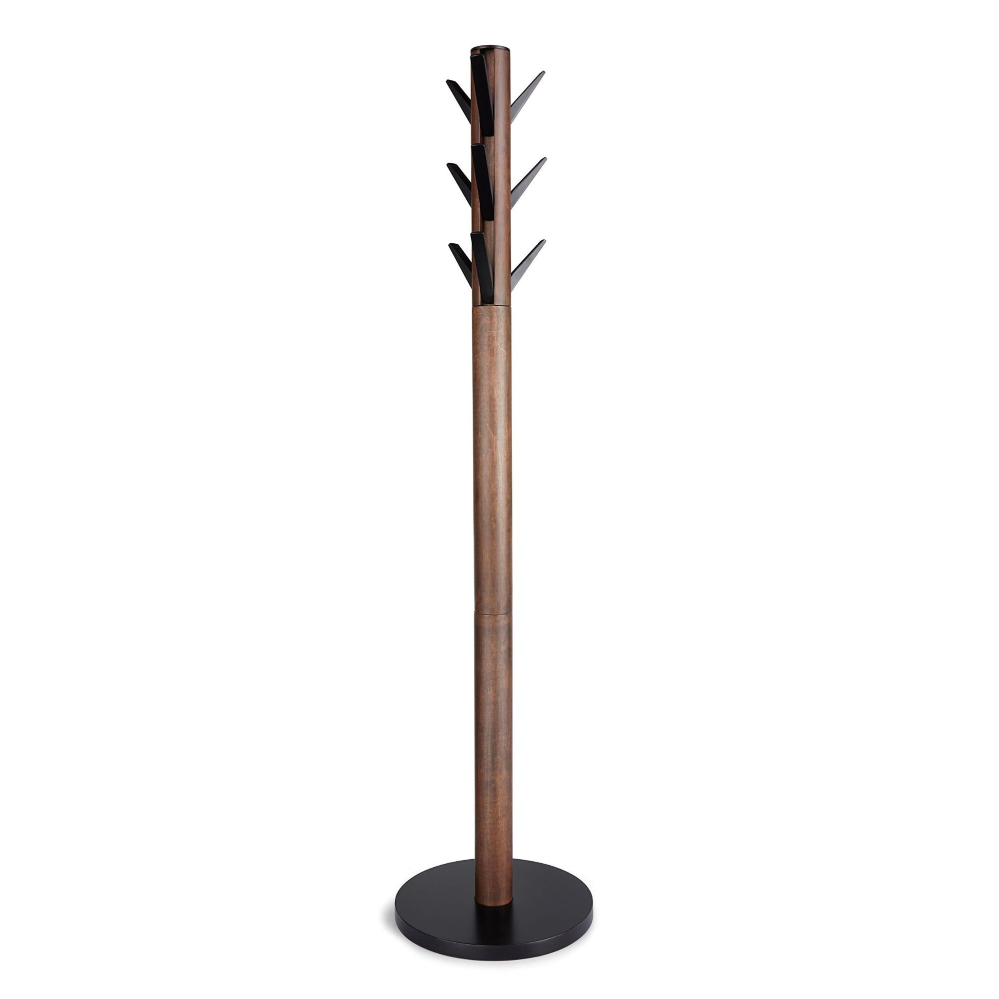 Umbra Flapper coat rack, walnut