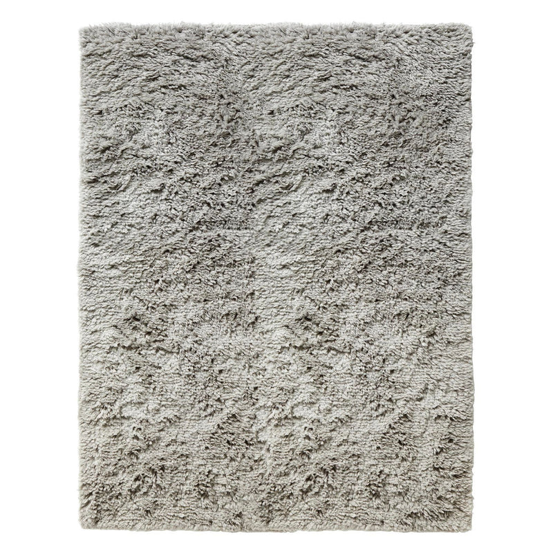 Hay Shaggy rug, warm grey (170x240 cm)