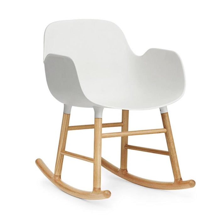 Normann Copenhagen Form armchair, oak, rocking