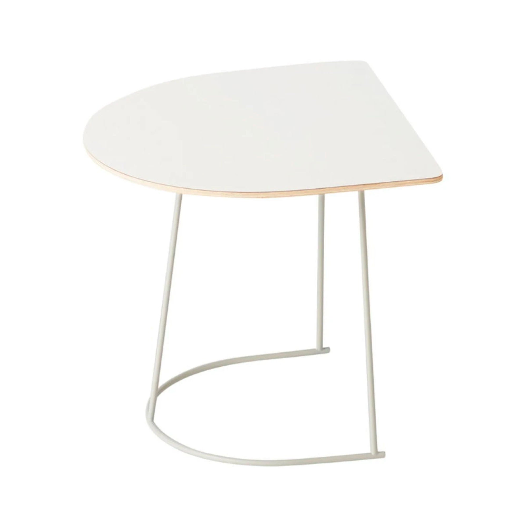 Muuto Airy Coffee Table Half Size , Off-White
