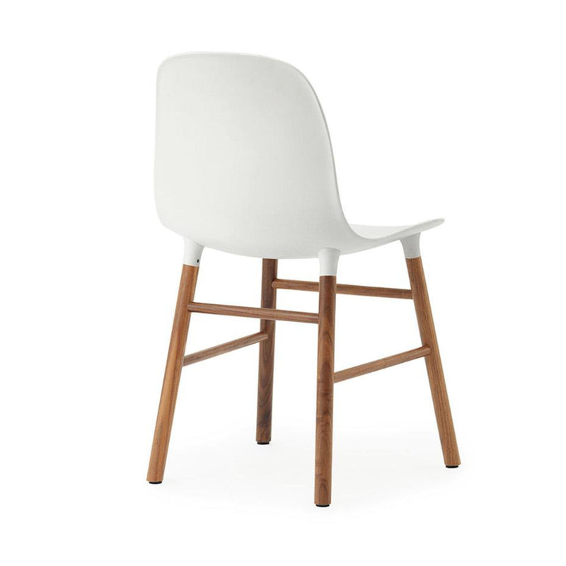 Normann Copenhagen Form Chair , Walnut/White