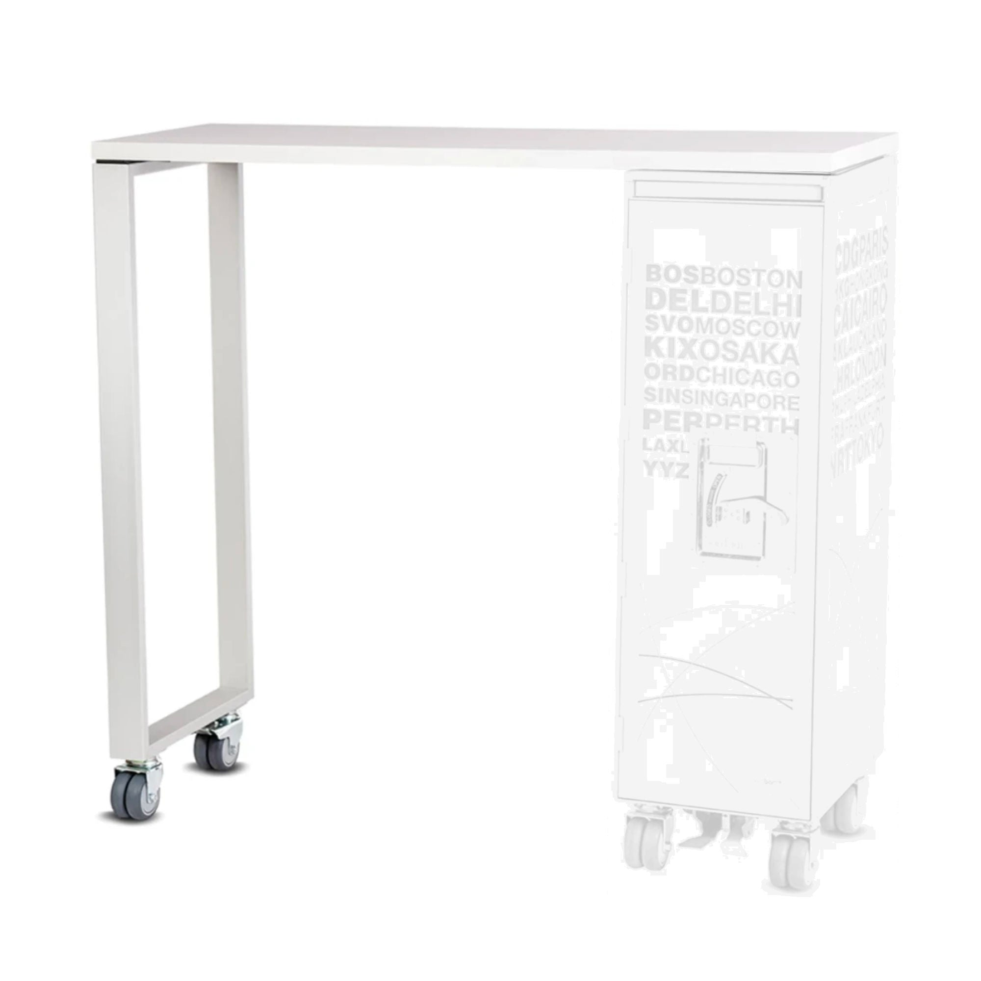 Bordbar High Table Add-On , White