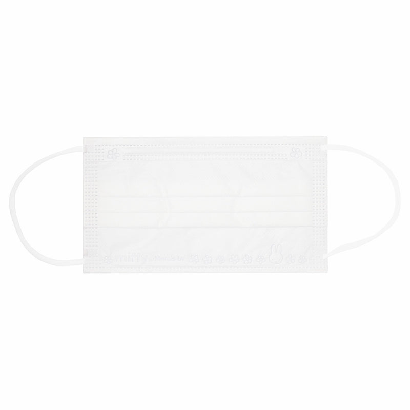 Miffy 3-ply Disposable Face Mask 30-Pcs , White