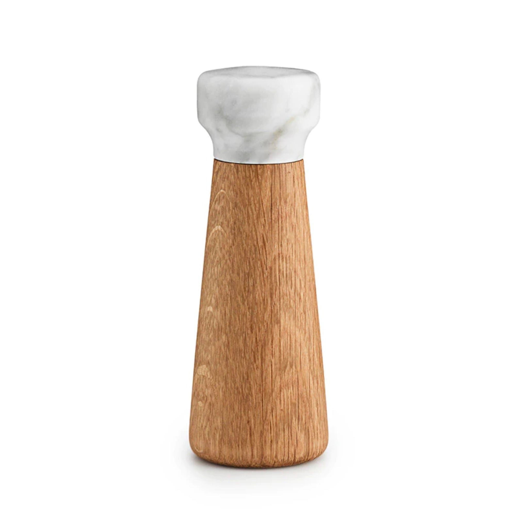 Normann Copenhagen Craft Salt Mill Small , Oak-White